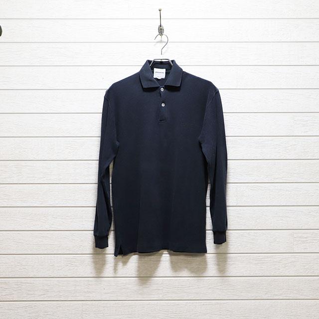 ドゥーズィエム deuxieme 長袖ポロシャツ Mサイズ コンディションB ブラック 価格1,100円(税込)