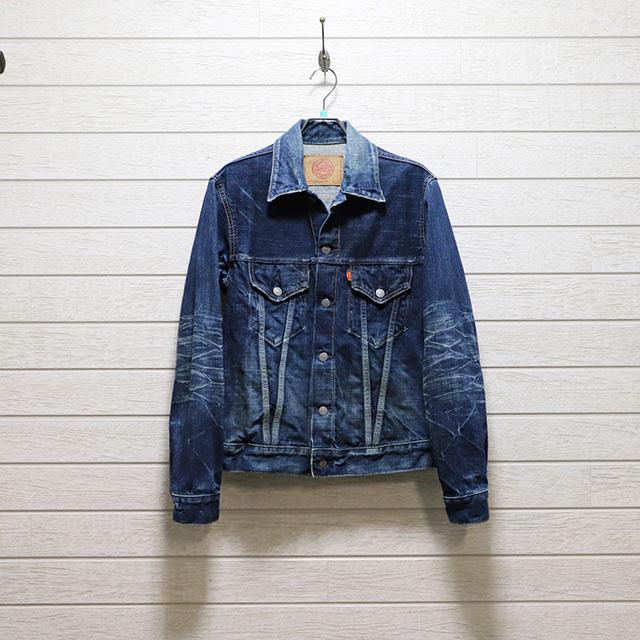 オムニゴット OMNIGOD デニム3rdジャケット Mサイズ コンディションB インディゴブルー 価格4,400(税込)