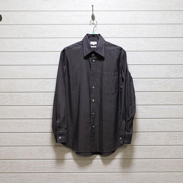 ポールスミス(Paul Smith) ドビーレギュラーシャツ Mサイズ コンディションA ブラウン 価格4,400(税込)