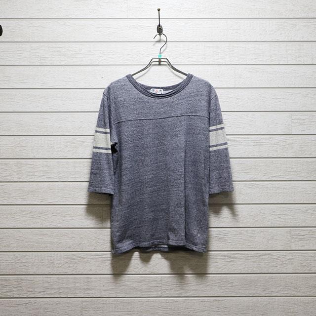 ウミ u.m.i7分袖ラインTシャツ Mサイズ コンディションB 価格1,100円(税込)