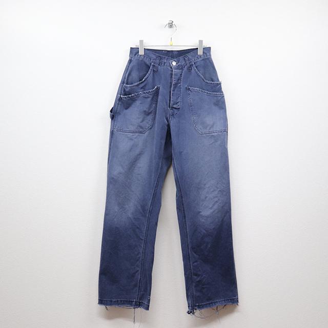 リプレイ(REPLAY)ポケットデザインワイドワークパンツ M(30インチ)サイズ コンディションB ブラック 価格3,300(税込) 売切れ