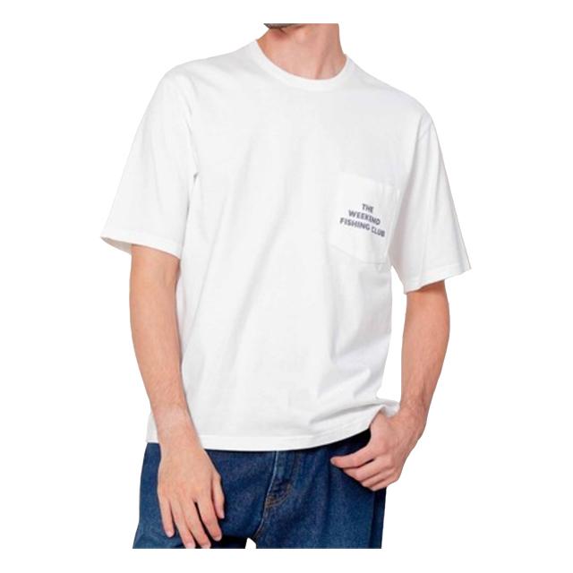 プリントTシャツ(FISHING CLUB) ホワイト JOHNBULL 40%OFF ¥6,050(税込)→¥3,630(税込)