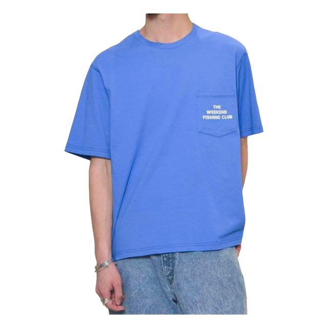 プリントTシャツ(FISHING CLUB) ブルー JOHNBULL 40%OFF ¥6,050(税込)→¥3,630(税込)