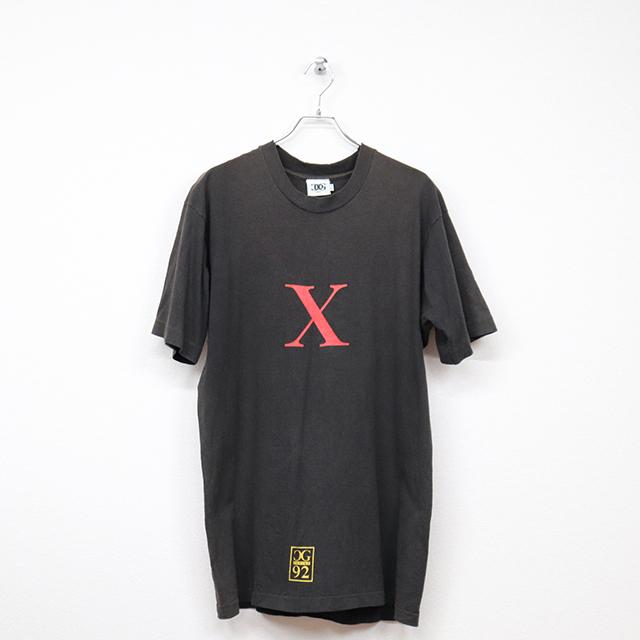(90's・CDG NYC)半袖プリントTシャツ Mサイズ コンディションB ブラック 価格4,400円(税込)売切れ