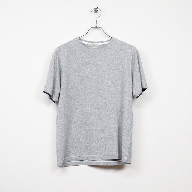 ハリス(HARRISS)半袖Tシャツ Mサイズ コンディションB 杢グレー 価格880円(税込)