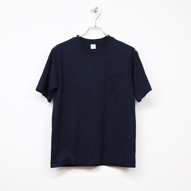 ハリス(HARRISS)半袖ポケット付きTシャツ Mサイズ コンディションB 杢グレー 価格880円(税込)