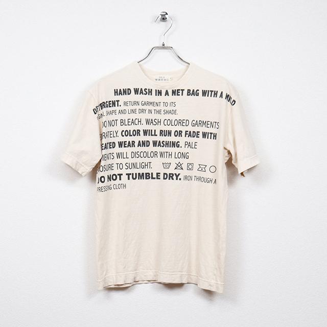 トリップ(TRIP)半袖プリントTシャツ Mサイズ コンディションB ベージュ 価格880円(税込)売切れ