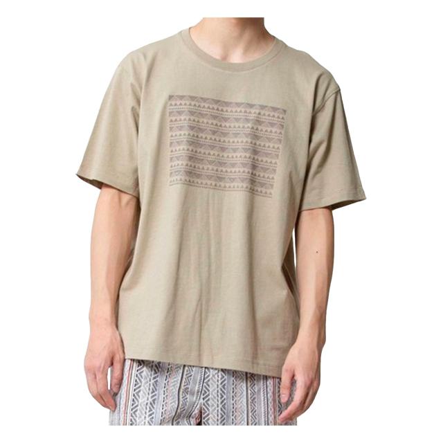 プリントTシャツ(NATIVE) オリーブ JOHNBULL 40%OFF ¥6,050(税込)→¥3,630(税込)