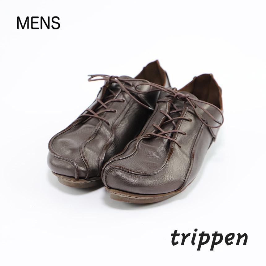 メンズ [trippen] Mehmet マホメット チョコブラウン サイズ 41(26.0) コンディションC ¥9,036 売切れ