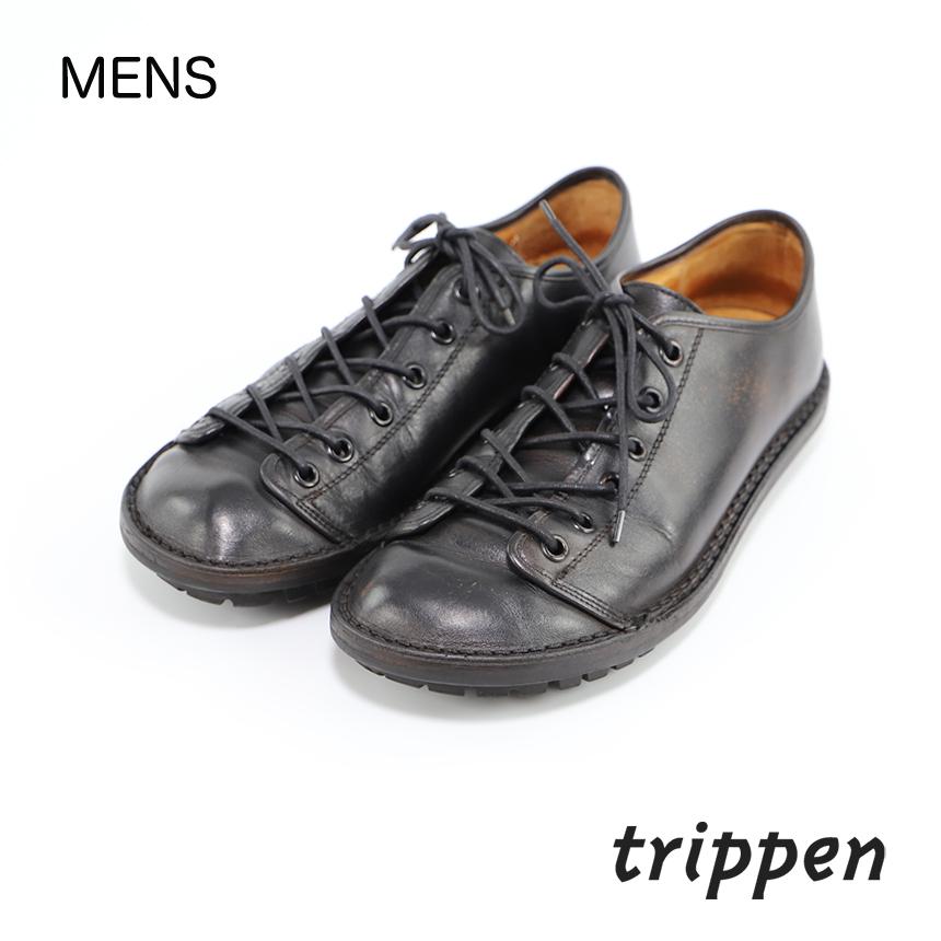 メンズ [trippen] Todi black サイズ 41(25.5~26.0) コンディションD ¥3,300 売切れ