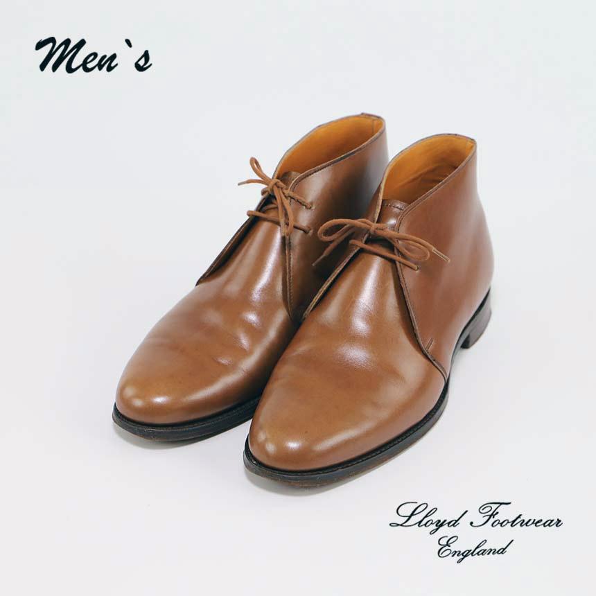 ロイドフットウェアイングランド Lloyd Footwear England プレーンフロント ショートノーズ ダービーブーツ UK7.5(26.0㎝) ヴィンテージ ¥8,800 ヤフオク出品中(ヤフオク stsdf09764で検索してください)
